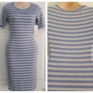 Lularoe Julia Dress Stripe Sz. XXS T-shirt Dress